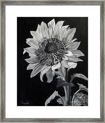 Sunflower Sutra Framed Print