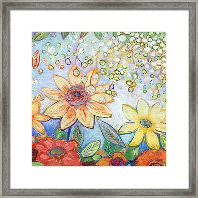 Sunflower Tropics Part 2 Framed Print