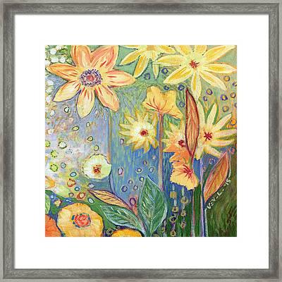 Sunflower Tropics Part 3 Framed Print