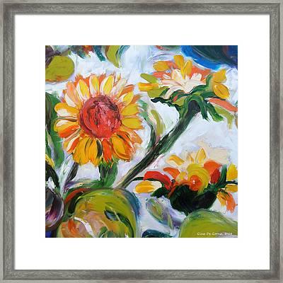Sunflowers 5 Framed Print