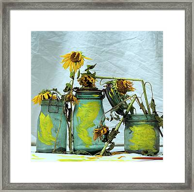 Sunflowers Framed Print by Bernard Jaubert
