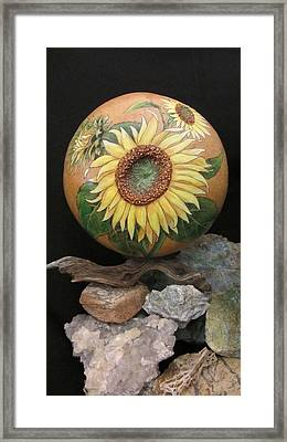 Sunflowers Gn41 Framed Print