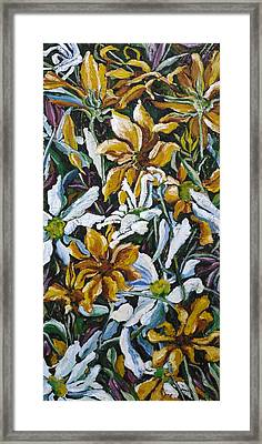 Sunflowers No.7 Framed Print by Christine Marek-Matejka
