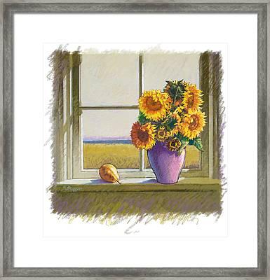 Sunflowers Framed Print by Valer Ian