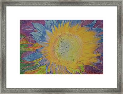 Sunglow Framed Print