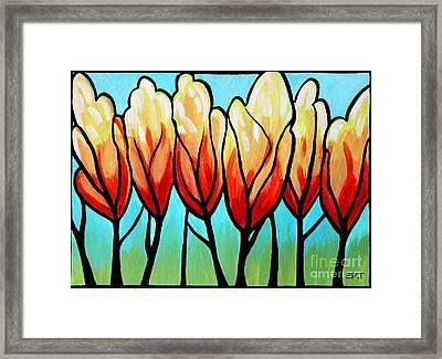 Sunglow  Framed Print by Elizabeth Robinette Tyndall