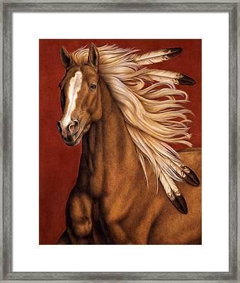 Sunhorse Framed Print by Pat Erickson
