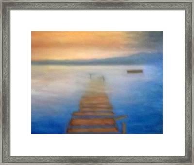 Sunken Dreams Framed Print