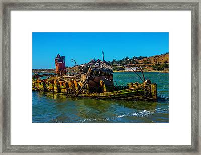 Sunken Mary D Hume Framed Print by Garry Gay