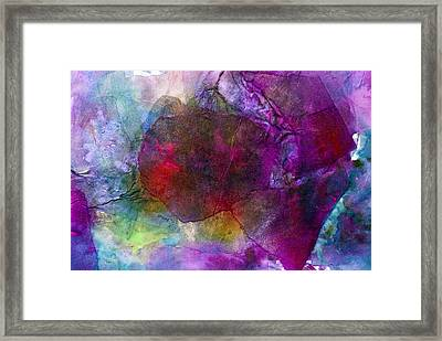 Sunken Ruby Framed Print
