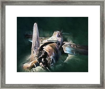 Sunken Treasure Framed Print