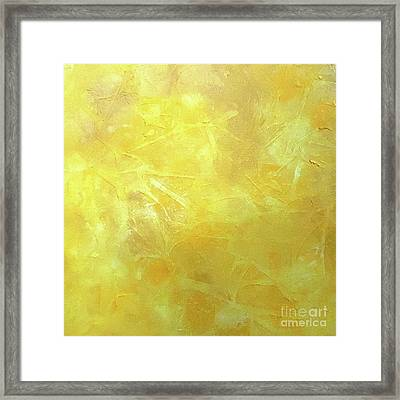 Sunlight Framed Print by Jilian Cramb - AMothersFineArt