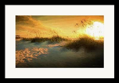 Oats Digital Art Framed Prints