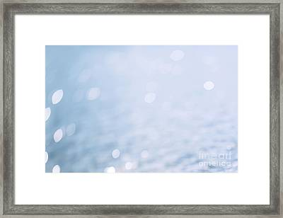 Sunlight On The Water Framed Print by Natalie Kinnear