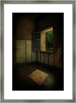 Sunlight Onto The Floor  Framed Print by Valmir Ribeiro