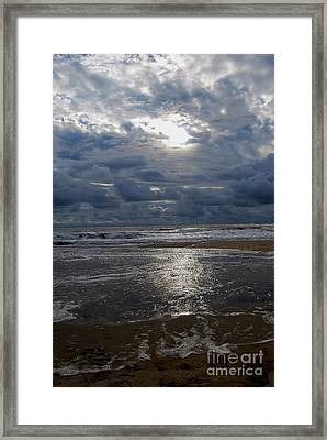 Sunlight Reflected Framed Print by Linda Mesibov