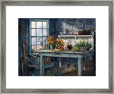 Sunlight Suite Framed Print