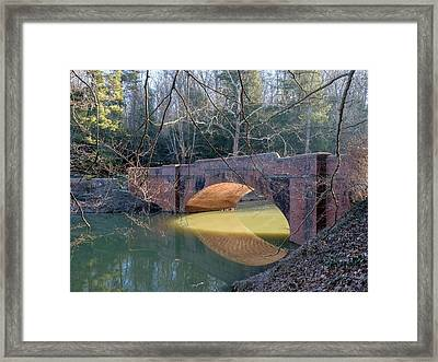 Sunlight Under Bridge Framed Print