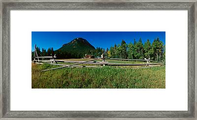 Sunlight Valley, Wyoming Framed Print by Panoramic Images