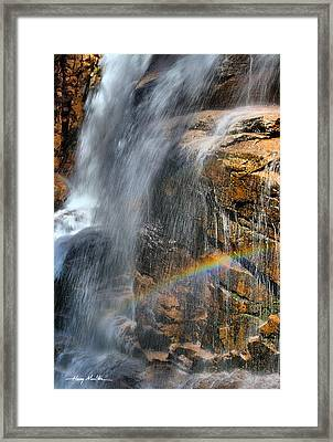 Sunlight's Mirage Framed Print