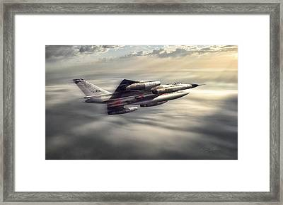 Sunlit Hustler Framed Print by Peter Chilelli