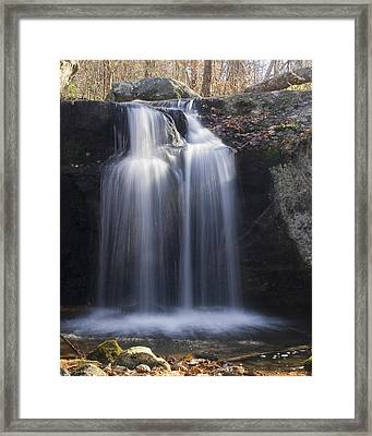 Framed Print featuring the photograph Sunlit Streams by Alan Raasch