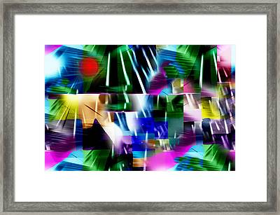 Sunlounger  Framed Print by Paul Sutcliffe