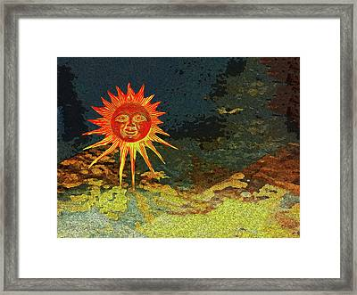 Sunny 3 Framed Print by Bruce Iorio