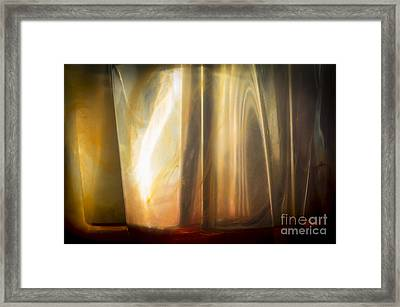 Sunny Abstract Framed Print