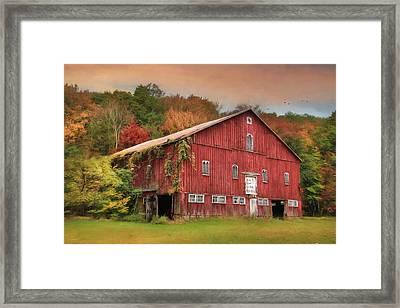 Sunny Acres Framed Print