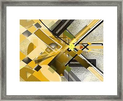 Sunny City Framed Print by Jo Baby