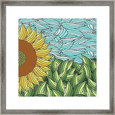 Sunny Day Framed Print by Absentis Designs