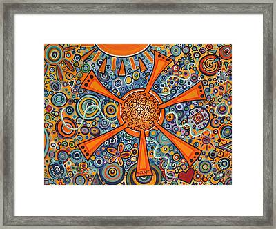 Sunny Day II Framed Print by Paintings by Gretzky