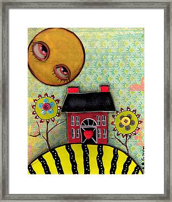 Sunny Days Framed Print by  Abril Andrade Griffith