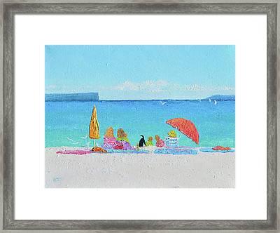 Sunny Days At Hyams Beach Jervis Bay  Framed Print