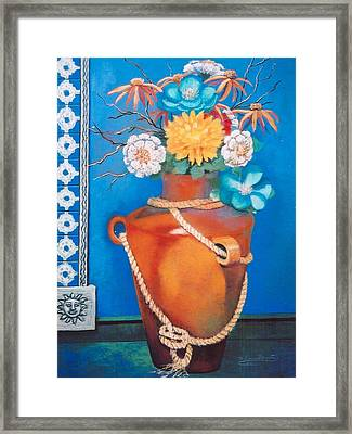 Sunny Disposition Framed Print by M Diane Bonaparte