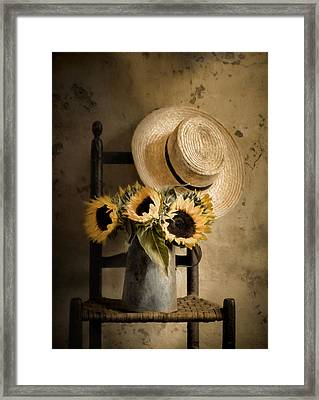 Sunny Inside Framed Print by Robin-Lee Vieira