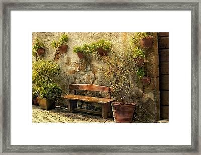 Sunny Italian Afternoon Framed Print by Lynn Andrews