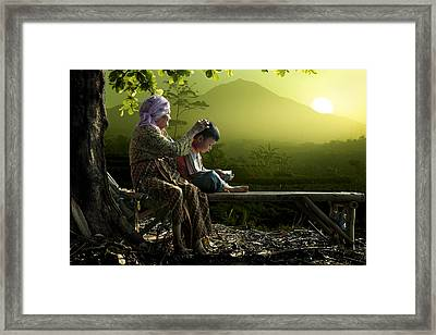 Sunny Morning Framed Print by Andre Arment