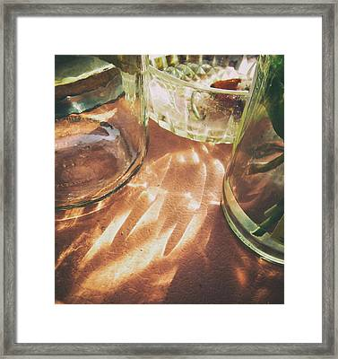 Framed Print featuring the photograph Sunny Morning by Steven Huszar