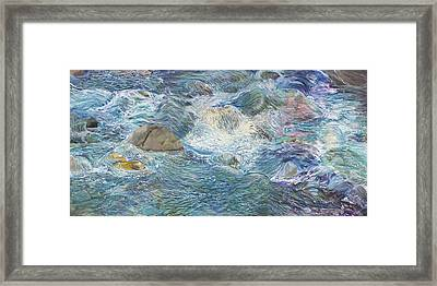 Sunny River --- The Tao Framed Print