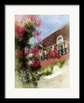 Overhang Digital Art Framed Prints