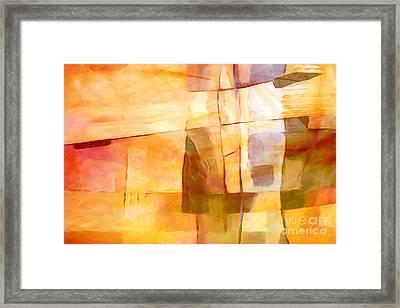 Sunny Scene Framed Print by Lutz Baar