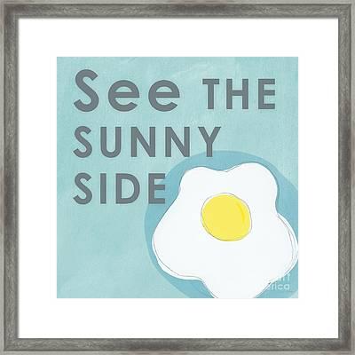 Sunny Side Framed Print