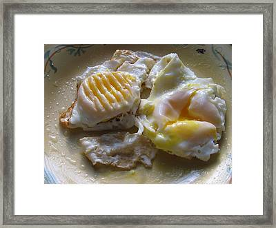 Sunny Side Up Framed Print by Lindie Racz
