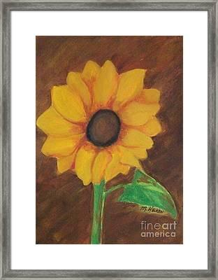 Sunny Side Up Framed Print by Marsha Heiken
