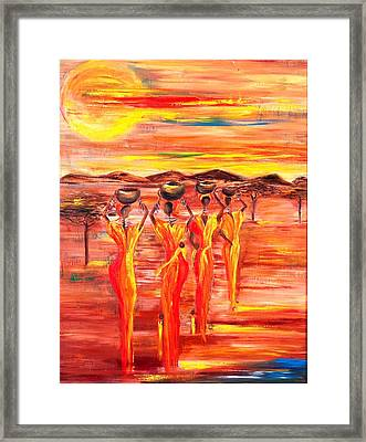 Sunny South Africa Framed Print by Marietjie Henning