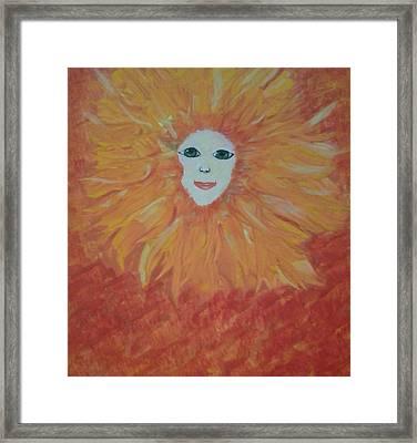 Sunny Framed Print by Tonya Merrick