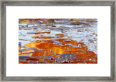 Framed Print featuring the photograph Sunny Water 1 by Sami Tiainen