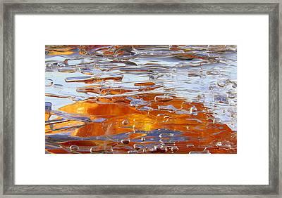 Sunny Water 1 Framed Print